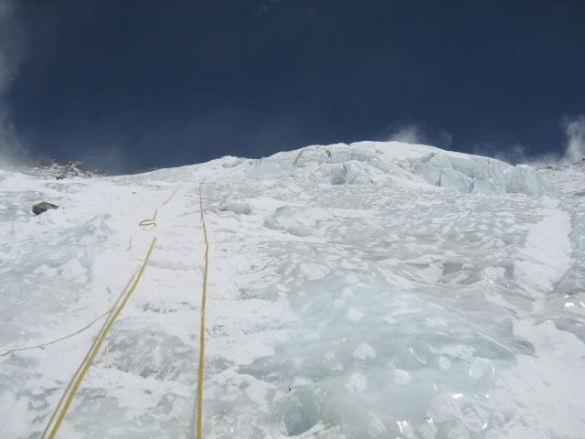 Cordada en la Pared del Lhotse